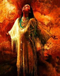 shaman spatiu sacru