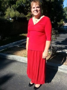 12/22/13 Dressed up for the holidays - first high heels! (Carlsbad, CA)