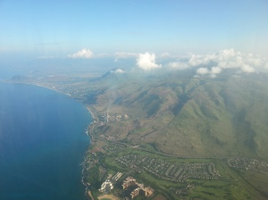 Honolulu at last - oh what a beautiful sight!