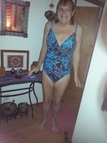 My new one piece bathing suit.